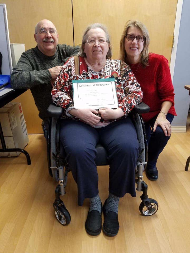 riverview pointe olmsted falls ohio nursing rehabilitation resident ordained